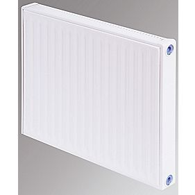 Flomasta Type 11 Single Panel Single Convector Radiator White 500 x 600mm