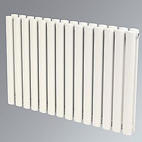 Reina Neva Double Panel Designer Radiator White 550 x 1003mm 5718BTU