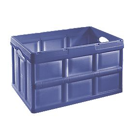 Heavy Duty Folding Storage Crate 46Ltr 535 x x 295mm