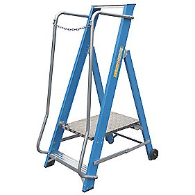Lyte Widestep Fibreglass Platform Step Ladder 2-Tread 1.41m