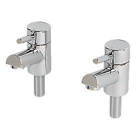 Bristan Prism Bathroom Basin Taps Pair
