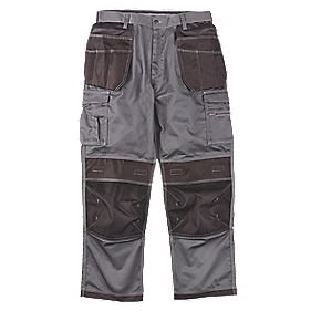 "Site Hound Holster Trousers Grey/Black 40"" W 32"" L"