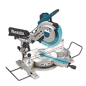 Makita LS1016/1 260mm Double Bevel Compound Sliding Mitre Saw 110V