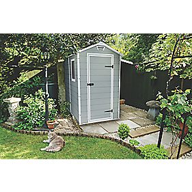 Keter manor resin shed 4 x 6ft review