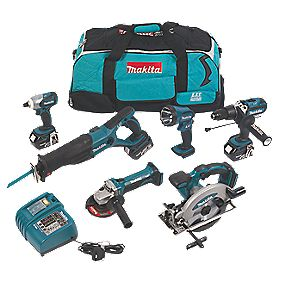 Makita LXT600 18V Li-ion LXT 6 Piece Kit 6Pcs
