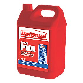 Unibond Super PVA Glue 5Ltr