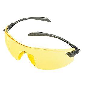 Stanley Premium Frameless Amber Lens Safety Specs