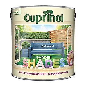 B and Q Garden Shades Barleywood 2.5Ltr