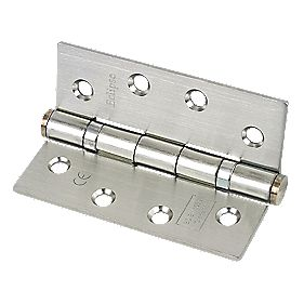 Eclipse Ball Bearing Hinge Nickel-Plated 102 x 76mm Pk3