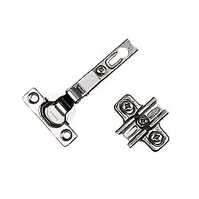 Salice Sprung Concealed Door Hinges Nickel Plated 94° 26mm Pack of 2