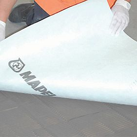 Mapetex Anti-Crack Tiler's Mat White 1m x 5m