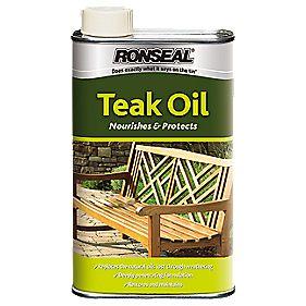 Ronseal Teak Oil Clear 1Ltr