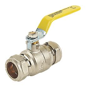 Full Bore Lever Ball Valve 22mm