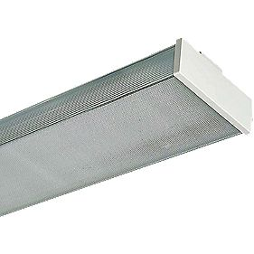 Pop Pack 2 x 58W Clear Diffuser Batten Accessory Pack of 4