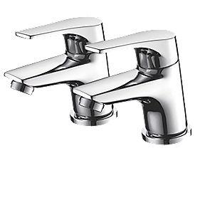 Bristan Easyfit Vantage Bath Taps Pair