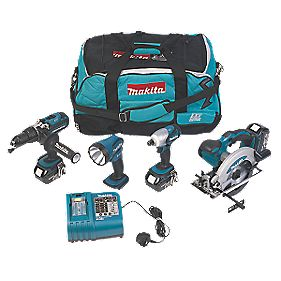 Makita LXT400 18V 3Ah Li-Ion Cordless 4-Piece Kit LXT