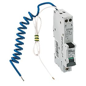 MK Sentry 16A 30mA SP Type B Curve RCBO