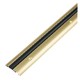 Stormguard Compression Draught Excluder Gold Anodised 914mm
