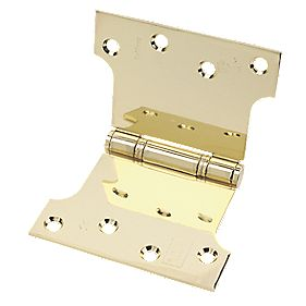 Eclipse Parliament Hinge Electro Brass 152 x 102mm Pack of 2