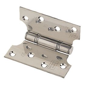 Eclipse Parliament Grade 13 Hinge Polished Stainless Steel 102 x 102mm Pk2