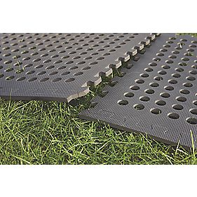 Mottez B518F Interlocking Hollow Mat 1.24 x 1.24m