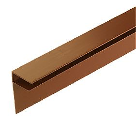 Corotherm Side Flashing Brown x 10 x 3000mm Pack of 2
