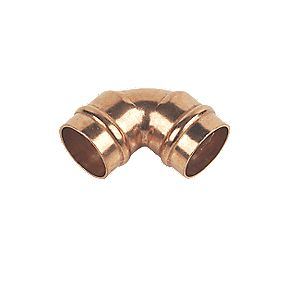 Solder Ring Elbow 15mm Pack of 2