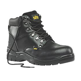 Site Stone Safety Boots Black Size 12