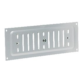 Map Vent Adjustable Louvre Vent Silver 76 x 229mm