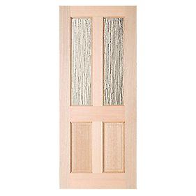 Jeld-Wen Taylor 2-Light Double-Glazed Exterior Door Unfinished 762 x 1981mm