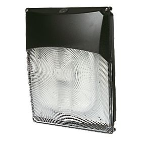 Trac Churchill 2D 38W Bulkhead Commercial Floodlight & Photocell