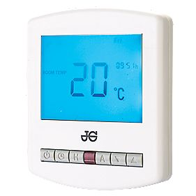 JG Programmable Room Thermostat with Hot Water