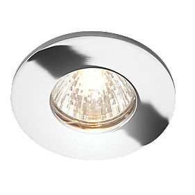 LAP Fixed Low Voltage Bathroom Downlight Polished Chrome 12V