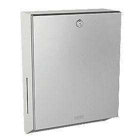 Franke Rodan Lockable Paper Towel Dispenser Wall-Mounted Stainless Steel