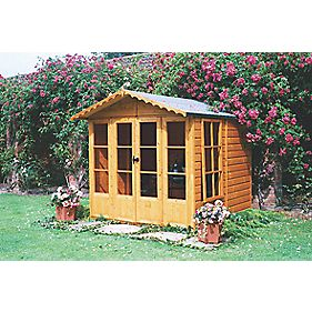Shire Chatsworth Shiplap Summerhouse 2.1 x 2.1 x 2.1m