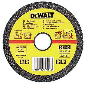 DeWalt 230 x 22.2 x 3mm Metal Cutting Disc