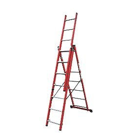 Lyte Combination Ladder 3 x 7 Rung 3-Way 4.2m