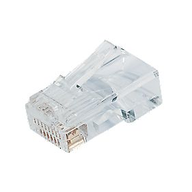 Philex RJ45 8P8C Connectors Pack of 100