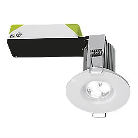 Halolite Fire Rated Fixed Integrated LED Downlight IP65 White 9W