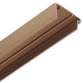 Corotherm PVC Sheet End Cap Brown