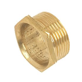 Male Brass Bush Short 25mm Pack of 10