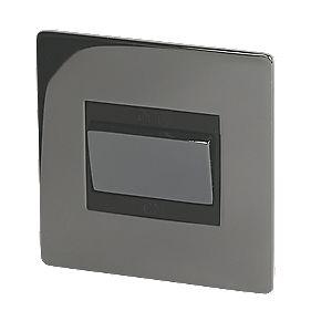 LAP 13A 3-Pole Fan Isolator Switch Black Nickel
