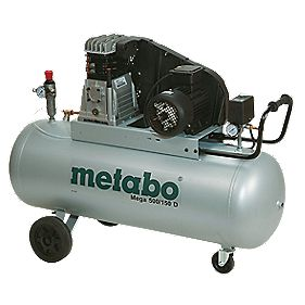 Metabo MEGA 500 150Ltr Air Compressor 400V
