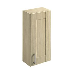 Bathroom Wall Unit Oak Shaker 300 x 200 x 660mm
