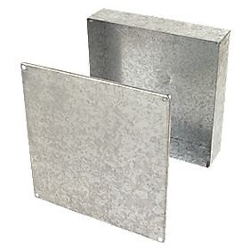 Appleby Adaptable Box Knockout Box Galvanised 300 x 300 x 75mm