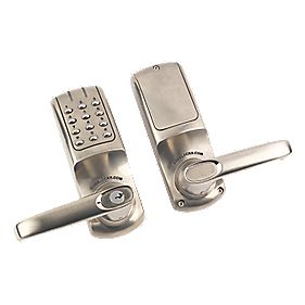 Codelock CL5010SS Electronic Heavy Duty Push Button Lock Tubular Latch