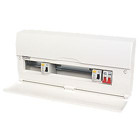 16-Way High Integrity Insulated Consumer Unit Dual 63A RCD