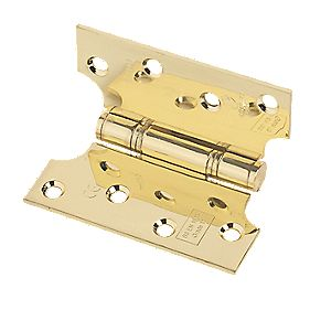 Eclipse Parliament Grade 13 Hinge Electro Brass 102 x 102mm Pack of 2