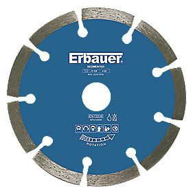 Erbauer Sintered Diamond Blade Segmented 125 x 1.9 x 22.23mm