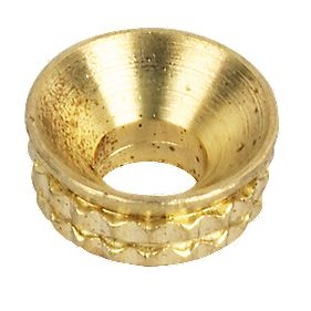 Brass Screw Cups 8g Pack of 100